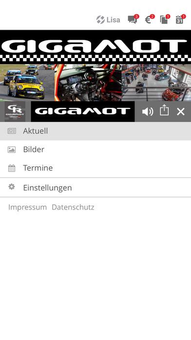 Gigamot IOS APP im iTunes App store