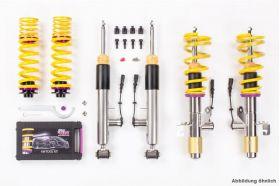 KW DDC - Plug & Play Gewindefahrwerk inox BMW