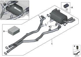 BMW M4 F82 - Racing Vorschalldämpfer Ersatzrohr  Gigamot Shop MINI & BMW Tuning