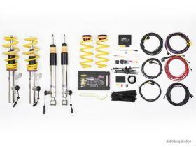 KW DDC - ECU Gewindefahrwerk inox BMW