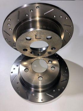 MINI F56, F57, F55 Bremsscheiben Hinterachse angelocht und geschlitzt Gigamot