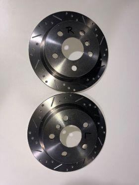 MINI F56, F57, F55 Bremsscheiben Hinterachse angelocht und geschlitztMINI F56, F57, F55 Bremsscheiben Hinterachse angelocht und geschlitztMINI F56, F57, F55 Bremsscheiben Hinterachse angelocht und geschlitztMINI F56, F57, F55 Bremsscheiben Hinterachse angelocht und geschlitzt Gigamot